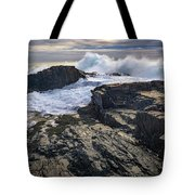 Clearing Storm At Bald Head Cliff Tote Bag