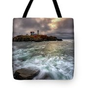 Clearing Storm At Cape Neddick Tote Bag