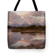 Clearing Storm At Oxbow Bend Tote Bag