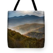 Clearing Storm At Webb Overlook Tote Bag