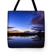 Clearing Storm Over The Anhinga Trail Tote Bag