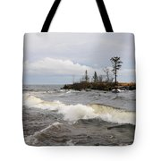Clearing Storm Over Lake Superior Tote Bag