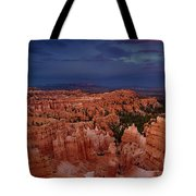 Clearing Storm Over The Hoodoos Bryce Canyon National Park Tote Bag by Dave Welling