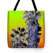 Clearlake Palm Trees Tote Bag