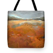Clearly, Something Happened Here Tote Bag