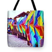 Clearwater Beach Pier 60 Tote Bag