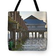 Clearwater Beach Pier Tote Bag