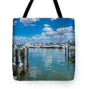 Clearwater Marina Tote Bag
