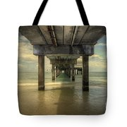 Clearwater Pier Tote Bag