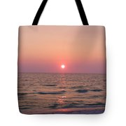 Clearwater Sunset Tote Bag