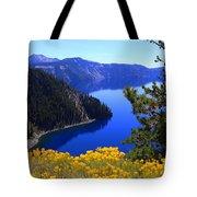 Cleetwood Cove At Crater Lake Tote Bag