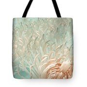 Clematis Center - Retro Abstract Tote Bag