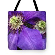 Clematis Detail Tote Bag