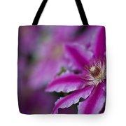 Clematis Dream Tote Bag