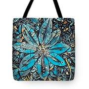 Clematis In Blue Fantasia Tote Bag