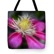 Clematis In Pink Tote Bag