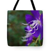 Clematis On The Side Tote Bag