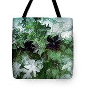 Clematis On The Vine Tote Bag