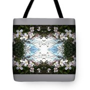 Clematis Sky Window Tote Bag