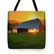 Clement Park Sunset Tote Bag
