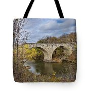 Clement Stone Arch Bridge Tote Bag