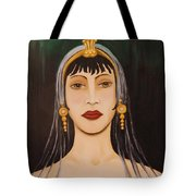 Cleo Tote Bag by Leah Saulnier The Painting Maniac