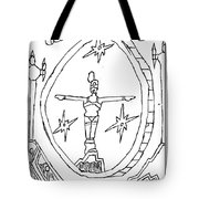 Cleo Over Valley In Paradise Tote Bag