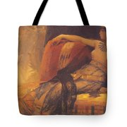 Cleopatra Preparatory Study For Cleopatra Testing Poisons On The Condemned Prisoners Tote Bag