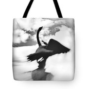Swans In Love Tote Bag