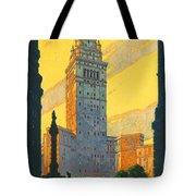 Cleveland - Vintage Travel Tote Bag