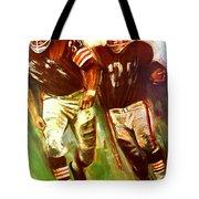 Cleveland Browns 1965 Cb Helmet Poster Tote Bag