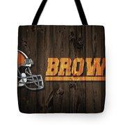 Cleveland Browns Barn Door Tote Bag