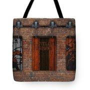 Cleveland Browns Brick Wall Tote Bag