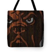 Cleveland Browns Wood Fence Tote Bag