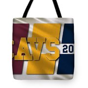 Cleveland Cavaliers Flag Tote Bag