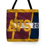 Cleveland Cavaliers Flag2 Tote Bag