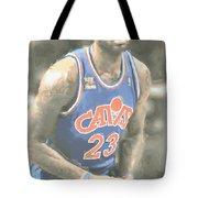 Cleveland Cavaliers Lebron James 1 Tote Bag