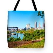 Cleveland Cityscape Tote Bag