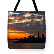 Cleveland Dawn Tote Bag
