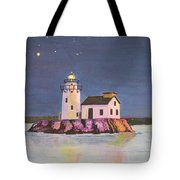 Cleveland Harbor West Pierhead Lighthouse Tote Bag