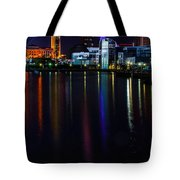 Cleveland Nightly Reflections Tote Bag