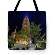 Cleveland On The Rise Tote Bag
