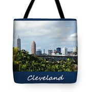 Cleveland Poster Tote Bag