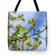 Flowering Pear Tote Bag