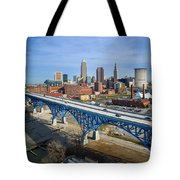 Cleveland Skyline #1 Tote Bag