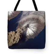 Cleveland Volcano, Iss Image Tote Bag