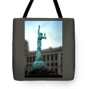 Cleveland War Memorial Fountain Tote Bag
