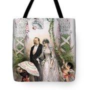 Clevelands Wedding, 1886 Tote Bag