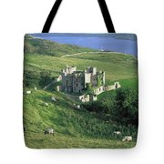 Clifden Castle, Co Galway, Ireland 19th Tote Bag