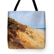 Cliff At Marconi Beach Tote Bag